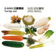 Künstliche Früchte und Gemüse