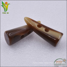 High Quality Competitive Price Resin Material Coat Toggle Button