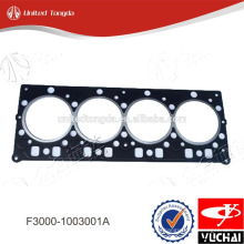 F3000-1003001A original yuchai YC4F cylinder head gasket for Chinese truck
