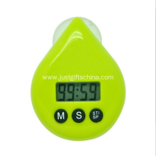 Promotional Water Drop Shaped Timer Suction Cup