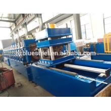 Machine de fabrication de rouleaux de barrage de barrage de la vente en acier à chaud, machine à fabriquer des feuilles de garde-corps en métal