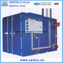 Máquina de revestimento nova da venda quente / equipamento / linha sala da pintura