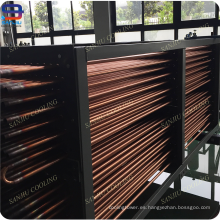 Bobinas de intercambiadores de calor de tubos de cobre para torres de enfriamiento