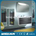 Euro Style Wall Suspensão Móveis para Banheiros Pedra Artificial Basin Dink Vanity Furniture Modern MDF Furniture Bathroom