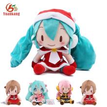 Personalice el muñeco de peluche del personaje de dibujos animados Coustom Anime Plush Toys