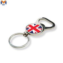 Wholesale custom opener glitter keychain