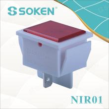 Lumière indicatrice d'équipement LED 250V 125V 12V 24V 36V