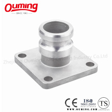 F Type Square Flange Stainless Steel Camlock Coupling