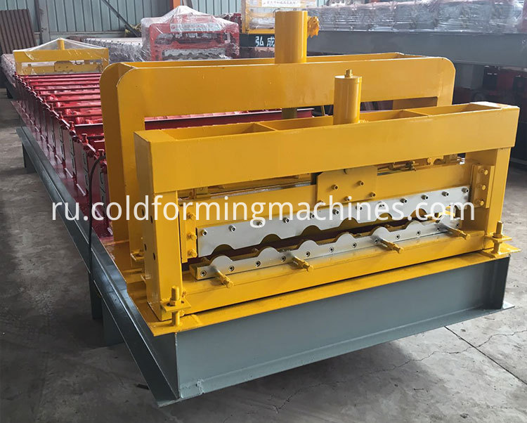 glazed tile roll forming machine 12