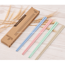 4 Pairs Healthy Wheat Straw Chopsticks