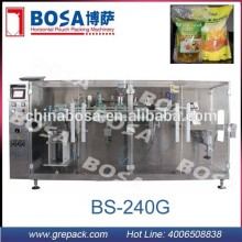 BS-240G price of preformed pouch packing and filling machinery for foods