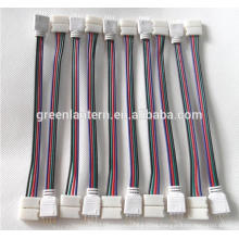 4PIN RGB Connector Wire Cable For 3528 5050 SMD LED Strip Male & Female
