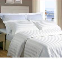 Satin Strip Hotel Cotton Bedding Set with Comforter Set (WS-2016004)