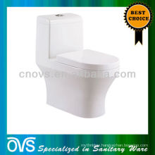 Foshan Sanitary Ware Classic Design One Piece Toilet Siphonic Toilet