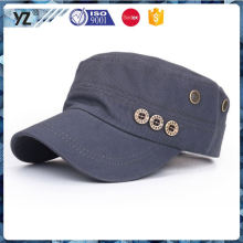 New product different types embroidered military cap in many style