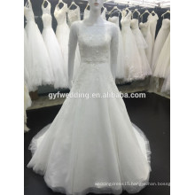 New Style Sheer Short Sleeves Tulle Ball Gown Dubai Beadings Muslim Wedding Dress 2015 Modest Muslim Wedding Dress XZ0004