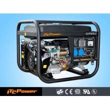 7.5kva portátil refrigerado a ar trifásico gasolina (gasolina) Conjunto Gerador