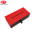 Sunglass Case Paper Drawer Packaging Box with ribbon