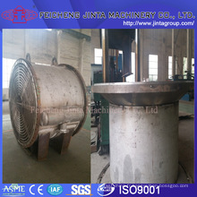 Échangeur de chaleur à plaque en spirale détachable en acier inoxydable