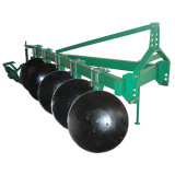 Farm Disc Plough/Plow/Tractor Mounted Disc Plough 1ly Series