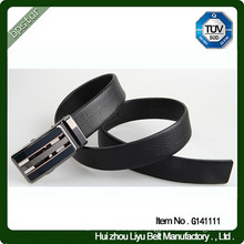 High quality cowskin leather belt real leather mens belts CE ROHS SGS ISO certified