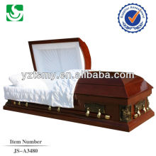 High quality professional solid wood casket manufacturers