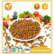 Alimento de gato seco com alto teor de proteínas e cálcio e nutrição