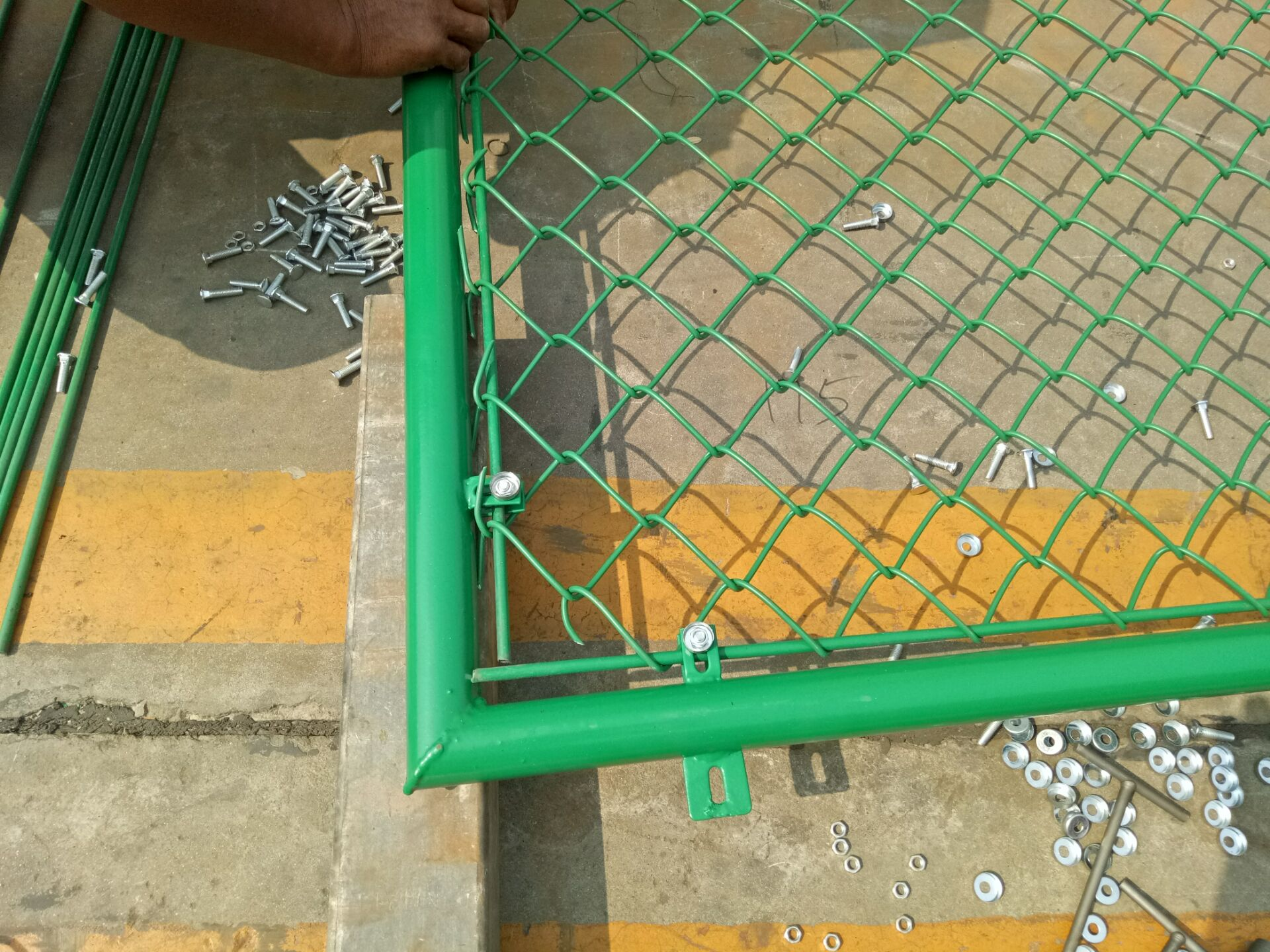 Vinyl Coated Chain Link Fencing Specification