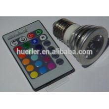 High quality best price epistar chip ac100-240v 3w rgb led lamp cup B22/E26/E27/GU10