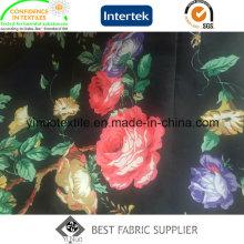 300t 100% Polyester Print Stoff für Damen Tuch