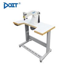 DT 203 máquina de costura aparando interior profissional de borracha industrial forro único sapato pu borda máquina de corte
