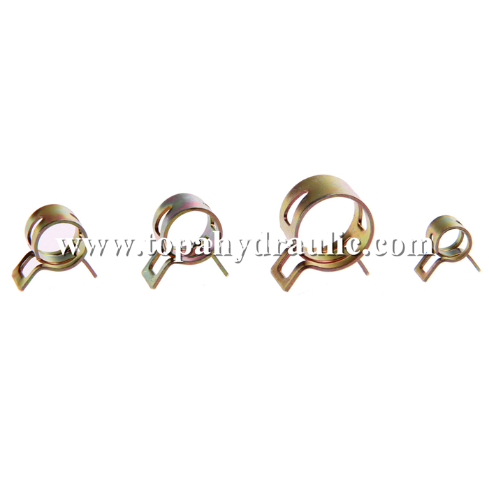 Repair tube wire pipe stainless steel spring clamp