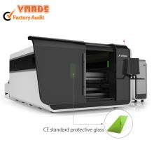 Couvrant l'équipement de coupe laser à fibre d'acier au carbone 1000W