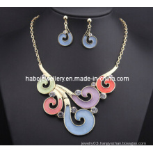 Auspicious Clouds Style Necklace Set/Fashion Jewelry Set (XJW13212)