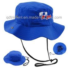 100% poliéster tecido de microfibra cap cancho esportivos ao ar livre (TMBH0793)