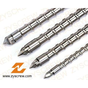 Einspritzungs-Maschinen-einzelne Schraube und Fass