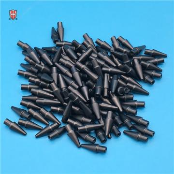 boquilla de succión de cerámica de circonita negra refractaria