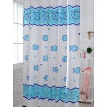 Blue Print Duschvorhänge für Bad