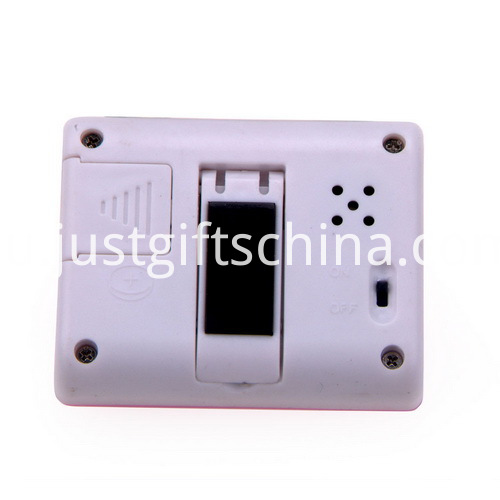 Promotional Plastic Square Shaped Timer with Holder_2