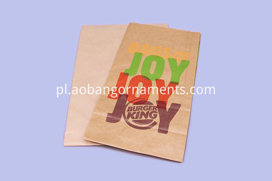 paper bag with window
