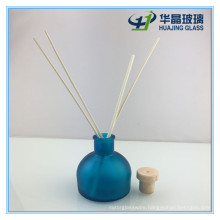 100ml Empty Blue Reed Diffuser Glass Bottle with Top Cork