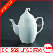 2015 new design elegant unique porcelain coffee pot