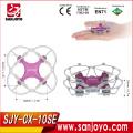 Versión de actualización Cheerson CX-10 SJY-CX-10SE Mini Drone 4CH 6-Axis 3D Flips RC Quadcopter con luces LED RTF Quadcopter