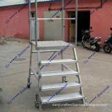 Ismountable Steel Step Ladder for Warehouse and Workshop