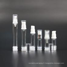 Vaporisateur cosmétique vide de 15ml 30ml 50ml avec la pompe (NAB22)