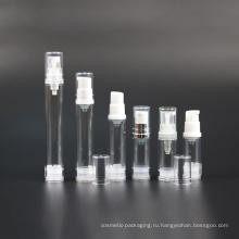Пустые 15мл 30мл 50мл косметический спрей бутылки с насосом (NAB22)