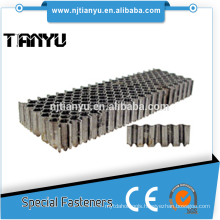 25MM Crown 1/2 inch X Stainless steel Corrugated Fasteners