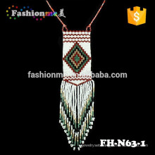Fashionme seed bead wintage hawaiian grow necklace