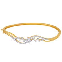 Bijoux en argent sterling avec 9 ko 925 en or 925 Bracelets en argent