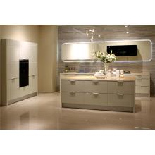 MDF Matte PU Pintura Cocina Gabinete Pantry Design